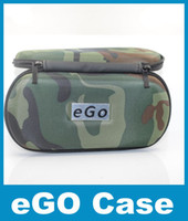 Wholesale E cig Ego Case with Zipper x80mm Camouflage Case for Electronic Kit DHL free Cheap Case for E cig