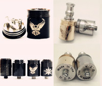 Replaceable Metal  Black Patriot Omega Gold Patriot Trident Nimbus Rebuildable Atomizer vs kayfun taifun chiyou fit hades panzer king mod DHL free ship