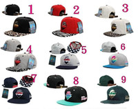 Wholesale NEW Pink Dolphin Snapback Caps Men Basketball Hip Pop Baseball Cap Adjustable Snapbacks hats hat
