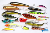Soft Baits freefisher on sale On Sale 17 pcs high quality fishing hard lures baits Live trout etc. OS-E2