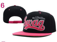 Wholesale NEW SWAG Snapback Caps Men Basketball Hip Pop Baseball Cap Adjustable Snapbacks hats hat