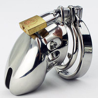 Wholesale Male Chastity Cock Cage with Spike Ring Stainless Steel Chastity belt Fetish Bondage Adult sex toys SM Chastity Device