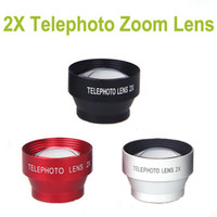Yes OEM Apple iPhones,Blackberry,HTC,LG,Motorola Detachable Adhesive Magnetic 2X Telephoto Zoom Camera Lens Cell Phones Lens Universal for Iphone Samsung HTC Ipad Tablets etc