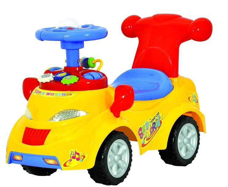 Toddler Toys Cars : Spin world baby ride on car toy cute buggies