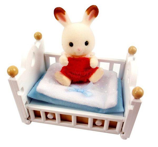 set b b lapin chocolat sylvanian de sylvanian. Black Bedroom Furniture Sets. Home Design Ideas