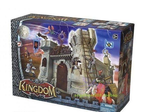 Toy Castles For Boys : Medieval kingdom castle soldier figures set