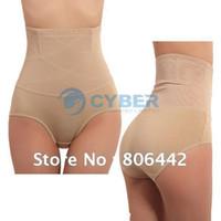 Women Boxers & Boy Shorts Christmas Women's High Waist Tummy Control Body Shaper Briefs Slimming Pants Knickers Trimmer Tuck