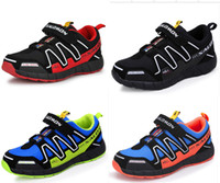 Unisex Children's Athletic Shoes - DORP SHIPPING Salomon Child Sport Shoes Boys and Girls Sneakers Casual Athletic Shoes Children s Running Shoes for Kids Color Size