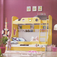 Wholesale only accept Container orderChildren s furniture factory in Guangdong children Mickey Trundle Bunk Beds Children s Furniture