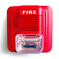 Lifetech Fire LT-104 ABS professional fire alarm siren ,sounder and flasher for fire alarm and firefighting alarm system