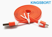 Black/White/Blue/Green/Purple ect. Usb V8 Cable Newest Wholesale High Quality Cheap Cell Phone Cables High Speed USB Data Cable 2.0 V8 for Samsung S3 S4 HTC One M8 Blackberry LG Iphone5s FREE DHL