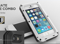 Wholesale Lunatik Taktik Extreme Strike Waterproof Dust proof Metal Cases Case Cover Protector For Apple iPhone S S C With Retail Package