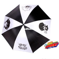 Polyester Raining 100% New Wholesale-Free Shipping!Anime Katekyo Hitman Reborn Logo Umbrella High Quality Three-folding Umbrella Cosplay Toy Gift