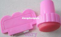 Decal 2D Plastic Wholesale-DIY Nail Stamper Set Stamping Nail Art Kit Nail Stamp + Scraper knife for Image paint Plate Design