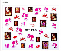 Wholesale x Nail Art Sticker Water Temporary Tattoos Watermark Stickers Styles Available