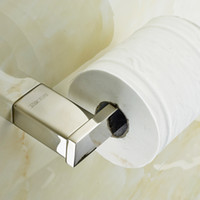 Wholesale Desire Stainless Steel Toilet Paper Holder Tissue Holder without Cover Bathroom Accessories