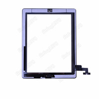 Wholesale Touch Screen Glass Digitizer Assembly for iPad ipad with camera bracket M Adhesive Glue Sticker Replacement Repair