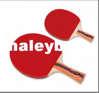 Wholesale 2PCS Butterfly tbc pingpong Racket Table tennis Racket Straight grip handle Horizontal grip handle High quality