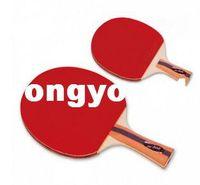 Wholesale Butterfly tbc pingpong Racket Table tennis Racket Straight grip handle Horizontal grip handle