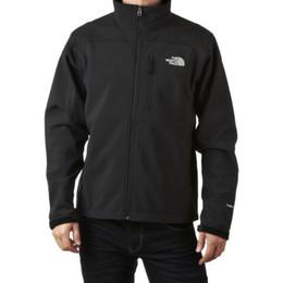 Wholesale 2014 New Men s Fleece Apex Bionic Fleece SoftShell Windstopper Jacket Outdoor Men Windproof Waterproof Climbing Sportswear Outerwear