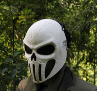 Wholesale DC scary horror skull Chastener Ear protective Full Face Mask For halloween CS Wargame Field game Cosplay Movie Prop Airsoft Paintball