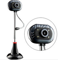 8 Mega 1024x768 USB Night vision camera with microphone line free driver usb computer HD video