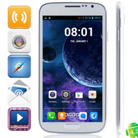 Wholesale DOOGEE DG300 VOYAGER Inch HD Dual Core Ghz MTK6572 RAM M GB Android GPS WiFi G WCDMA GSM Dual Sim Card Smart Cell Mobile Phone