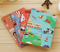 Precio de Cuadernos forrados diarios-Los niños de papelería D30-310 Nuevos Mundial de los viajes de 32K línea del coche de cuaderno,un diario de bolsillo bloc de notas,dandys