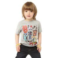 Boy Summer Standard In Stock 2014 Round Neck Cartoon T-Shirt Baby Kids Short Sleeve Children Summer Clothes Boys Cotton T-shirts %100 Cotton New Hot 6pcs lot