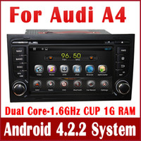 audi a4 navigation - Pure Android PC Car DVD Player for Audi A4 w GPS Navigation Radio TV BT USB AUX G WIFI DVR Audio Stereo
