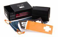 Wholesale 2014 Brand KEN BLOCK Folding sunglasses Original Packs Boxes Bags CASE Covers