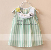 Wholesale Kids Clothing Girls Cute Dresses Children Wear Kids Summer Dress Fashion Princess Dress Casual Dresses Child Clothes Childrens Dress Short