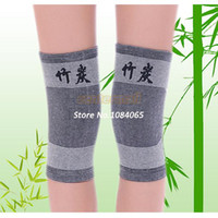 Wholesale Hot Pair volleyball football badminton Bamboo Charcoal sports kneepads Running mountaineering Protective PADS SV001754
