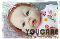 Unisex Birth-12 months Vinyl Free shipping TOP QUALITY 55cm boy reborn baby doll same quality as adora baby doll for kids' gift