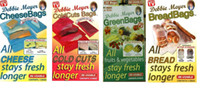 Wholesale Food Saver Fresh Bags Debbie Meyer series Bread Bags Green Bags Coldcut Bags Cheese Bags Reusable Stay Longer Mix Order Supported