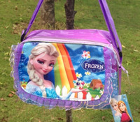 Wholesale Fashion Frozen Princess Elsa children single shoulder bag handbag Mix Model
