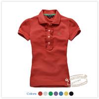 Men Polo Short Sleeve Full 200 30RTW 2014 summer new women's cotton short-sleeved T-shirt POLO wood ear RTWT32131