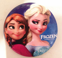 Wholesale Hot sale Frozen Tin Buttons pins badges MM Round Brooch Badge