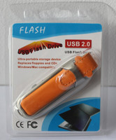 Wholesale 2014 free dropshipping new orange leather Genuine GB GB GB USB Memory Stick Flash Pen Drive for g4 TX C9L83PA CQ45 m01TU