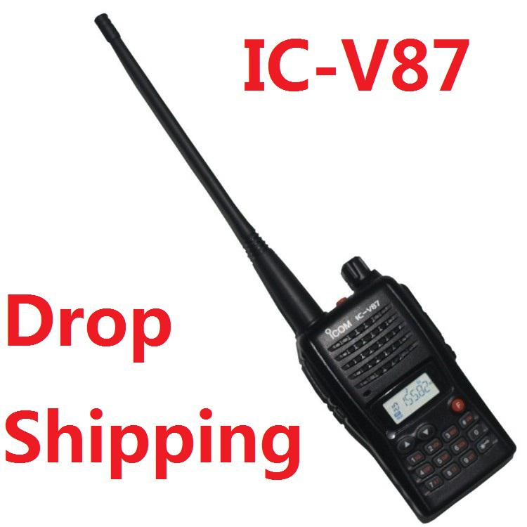 Supernova sale discount free shipping icom ic-v87 vhf 136-174mhz 199 channels ham radio v87 icv87 with fm radio