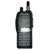 icom walkie talkie - hot selling ICOM V8 handheld two way walkie talkie VHF Mhz IC V8 transceiver walkie talkie VHF coolcity2012