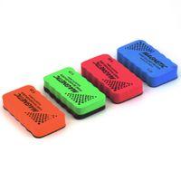 Wholesale 2Pcs Magnetic board Eraser Drywipe Marker Cleaner School Office Whiteboard Newest