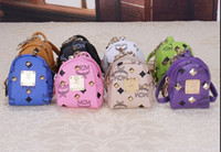 Wholesale MCM new fashion hot Bags pendant Backpack keychain Purse jewelry small pendant