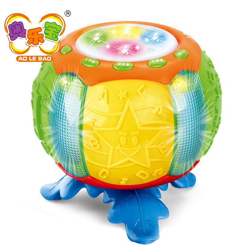 Drum Toy For 1 Year Olds : Happy music pat drum baby toys months to year old