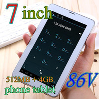 Wholesale SGpost Colorful Inch V A13 G GSM Phone Sim Calling Tablet PC Android GB M RAM Dual Camera Capacitive Screen Wifi TA77