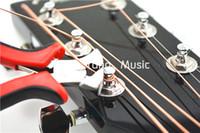 achat en gros de guitare goupille de pont extracteur-Guitare String Cutter Guitar Fret Nipper Guitare Bridge Pins Puller Luthier Tool Livraison gratuite / Vente en gros