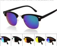 PC Sports Cat Eye 10 Pcs lot + Fashion Cycling Riding Bicycle Sports Eyewear Protective Goggle SunGlasses UV400 HJ565