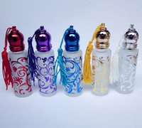 Wholesale 5ml ml Bronzing Travel Portable tassels Ballpoint Perfume Spray Bottle Refillable