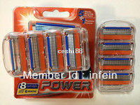 Wholesale Original FP s Shaving razor blade for men pieces AAAA Quality Power blade for manual razors