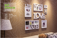 Wholesale European household photo wall Creative metope frame wall love composition individuality photo wall